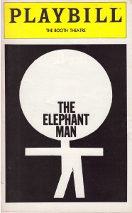 Elephant Man Playbill